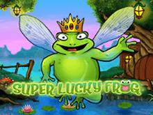 играть - Super Lucky Frog