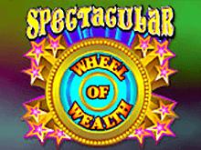 играть - Spectacular Wheel Of Wealth